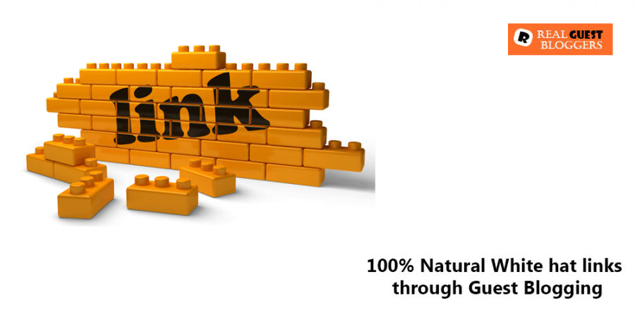 How to build a 100% Natural White hat links through Guest Blogging